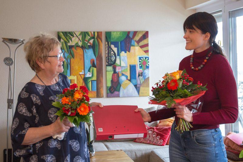 Helga Pfaff übergibt den SPD-Vorsitz an Julia Preißer